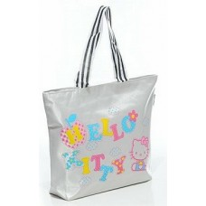 Kitty Cat Colourful Fashion Female Tote Bags (R4)