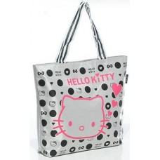Kitty Cat Colourful Fashion Female Tote Bags (R7)