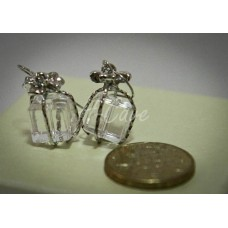 """Gift Box"" Shape Cube Fashion Earrings"