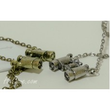 Fashion Necklace - Retro Telescope (AN0200) - 2 Colour