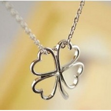 Fashion Necklace - Alloy Clover (AN0249) - 4 Leaves
