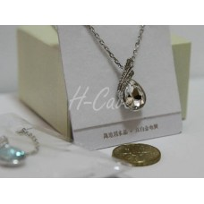 Swarovski Elements Crystal Jewel Necklace (Tear Drop Shape)