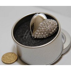 Heart Shape Diamond USB flash drive - 4GB / 8GB